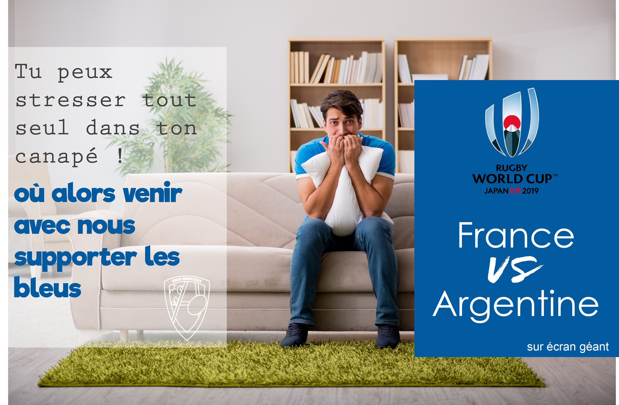 retransmission du match France - Argentine
